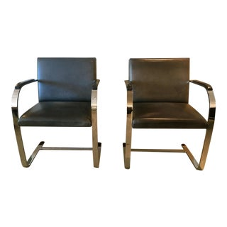 Mid-Century Classic BRNO Chairs - A Pair
