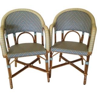 Authentic French Maison Gatti Café Chairs - Pair