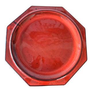 Mid-Century California Pottery Flower Pot Saucer