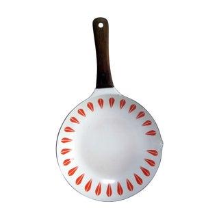 Orange Cathrineholm Lotus Frying Pan