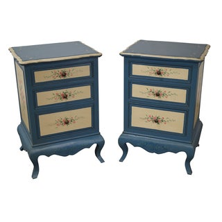 Brighton Pavilion Hand Painted 3 Drawer Chests