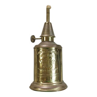 Vintage French Bee Hanging Oil Lamp