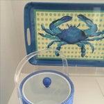 Image of Soraya Jones Crab Tray & Ice Bucket Set