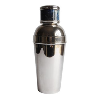 Silver Cocktail Shaker, Made in Italy