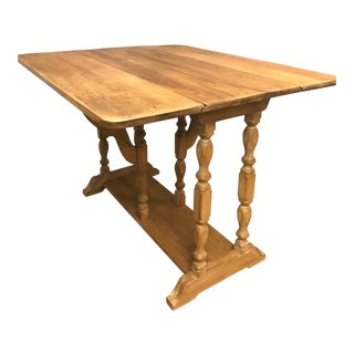 English White Oak Table