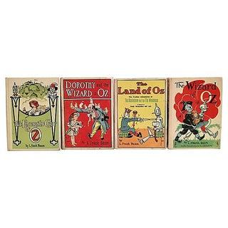 Vintage Wizard of Oz Books - Set of 4