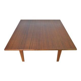 Jens Risom Designs Mid Century Danish Modern Walnut Occasional Table
