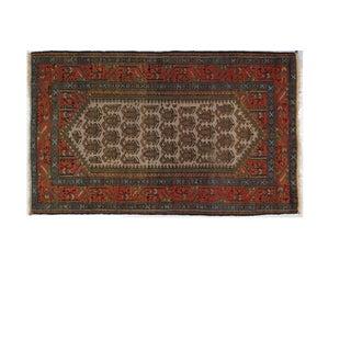"Antique Persian Bakhshayeh, 4' x 2'6"""