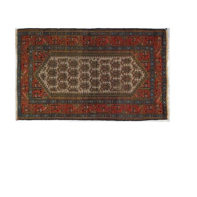 "Antique Persian Bakhshayeh, 4' x 2'6"" - Image 1 of 3"