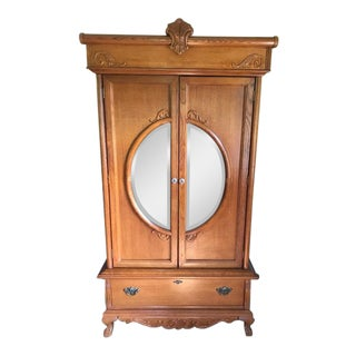 Victorian Antique Style Armoire