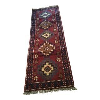 Hand Woven Persian Serapi Runner - 2 X 6.5