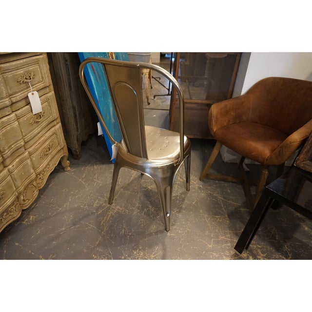 Vintage Style Metal Chair - Image 4 of 4