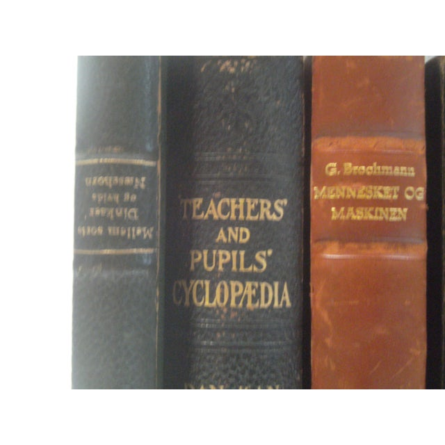 Image of Vintage Leather Bound Books