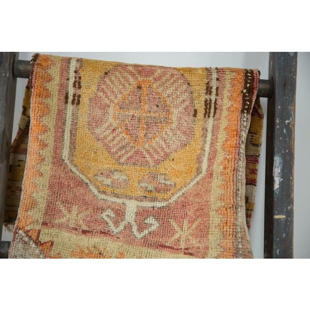 "Vintage Oushak Distressed Rug - 1'6"" x 2'10"" - Image 3 of 6"