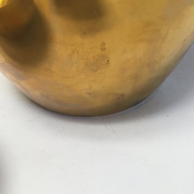 Image of Brass Ginger Jar