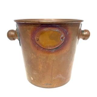 Cobre Chile Solid Copper Ice Bucket