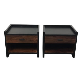 Crate & Barrel Nightstands - A Pair