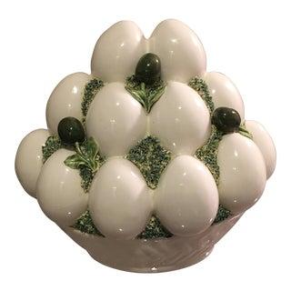Italian Mid-Century Goose Eggs & Olives Topiary