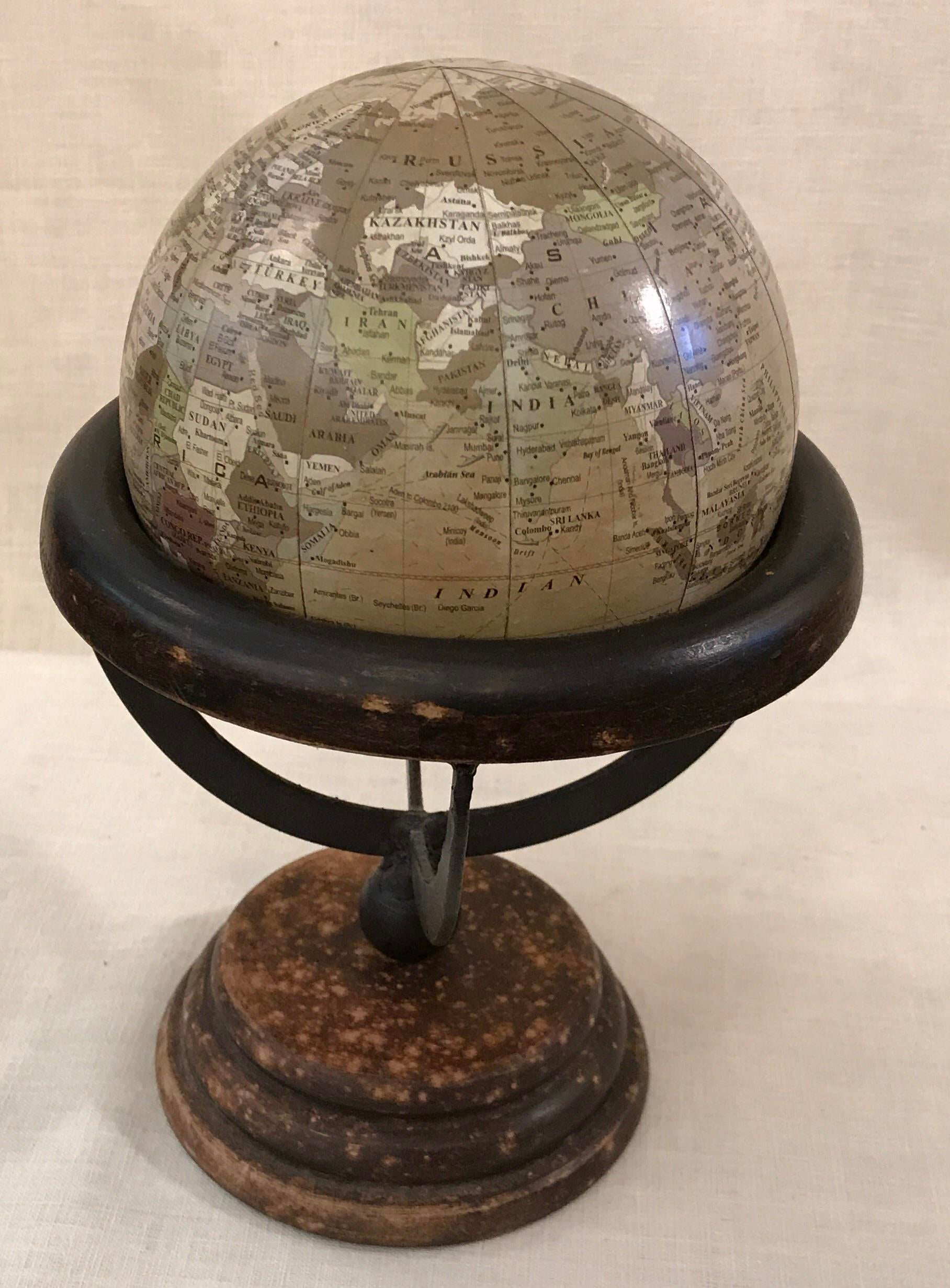 Table Top Globe On Stand   Image 4 Of 10