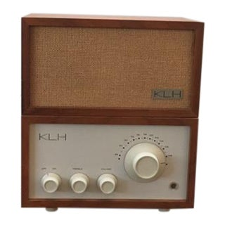 Vintage Klh Model Eight Fm Radio & Speaker