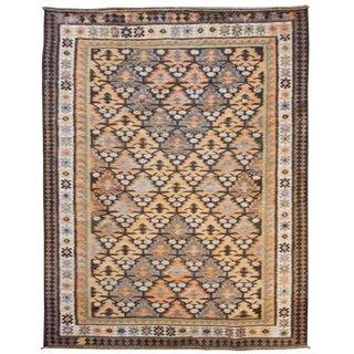 Wonderful Early 20th Century Qazvin Kilim