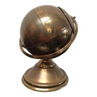 Vintage Brass Globe Cigarette Holder