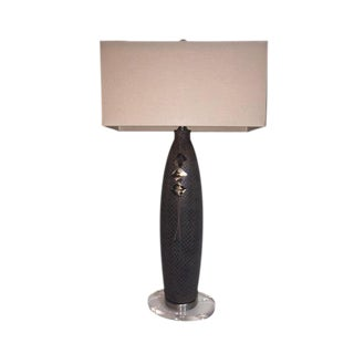 John Richard Textured Ceramic Lamp