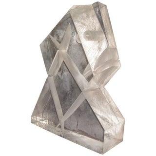 Unusual Lucite Sculpture Circa 1970's