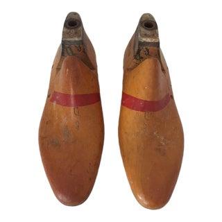 Vintage 1960's Cobbler's Shoe Form/Lasts - A Pair
