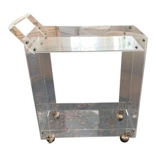 Vintage Lucite Bar Cart