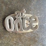 Image of MCM Retro at Once & Later Brass Large Paper Clips