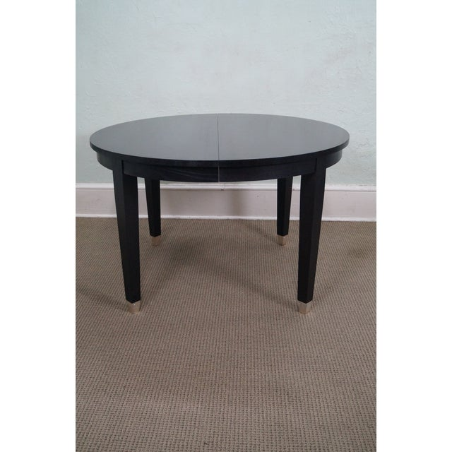 Asher Benjamin Studio Solid Oak Dining Table - Image 2 of 10