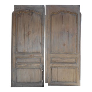 Salvaged French Doors - A Pair