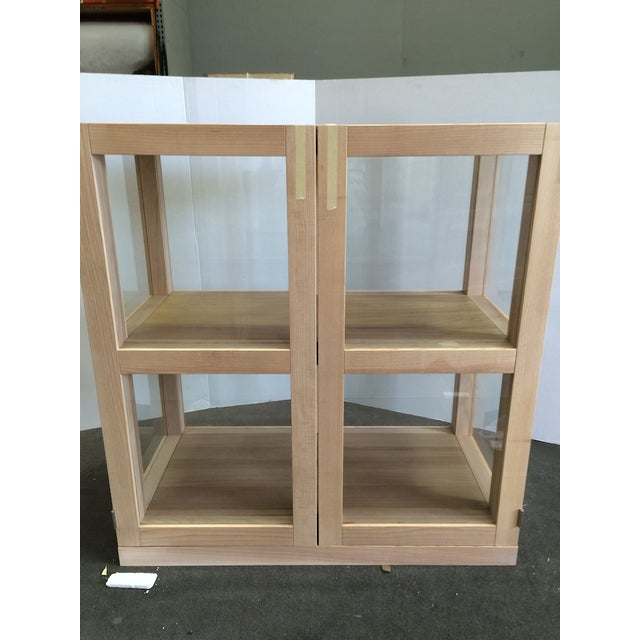 Image of Piet Boon Tjerk Glass Display Cabinets - A Pair