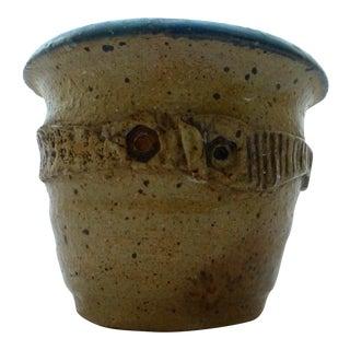 Mid Century Signed Studio Pottery Vase