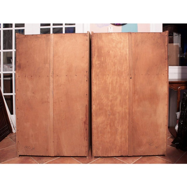 Image of 1920s Antique Arts & Crafts Kitchen Cupboards