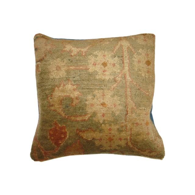 Image of Oushak Rug Fragment Pillow III