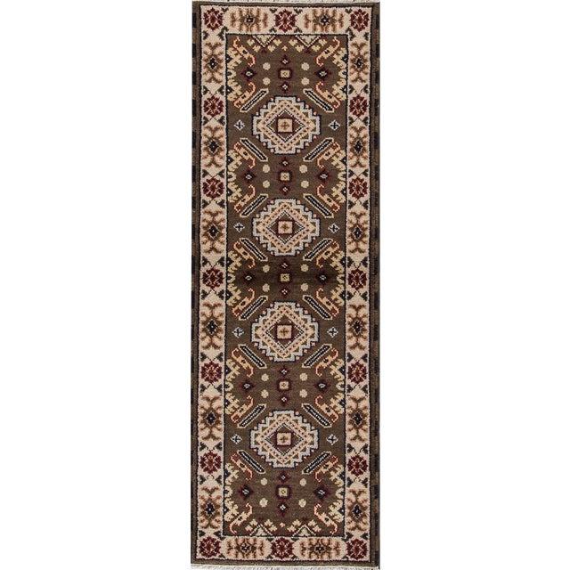 "Apadana - Modern Kazak Rug, 2'2"" x 6'7"" - Image 1 of 7"