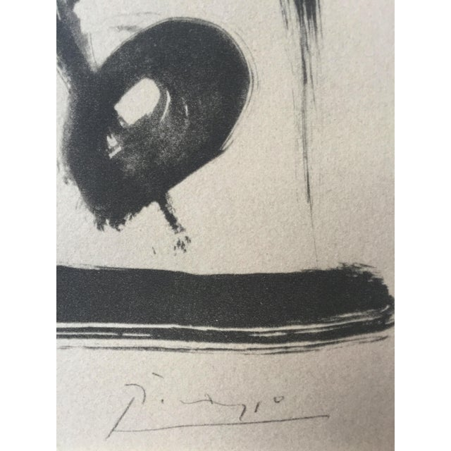 "Pablo Picasso 1948 ""Faune aux Branchages"" Lithograph - Image 3 of 5"