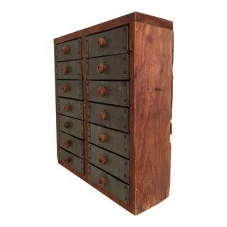 Tin Drawer Tramp Art Box