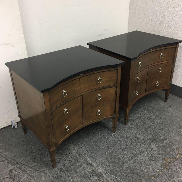 Hickory Chair Lancaster Side Tables - A Pair - Image 3 of 10