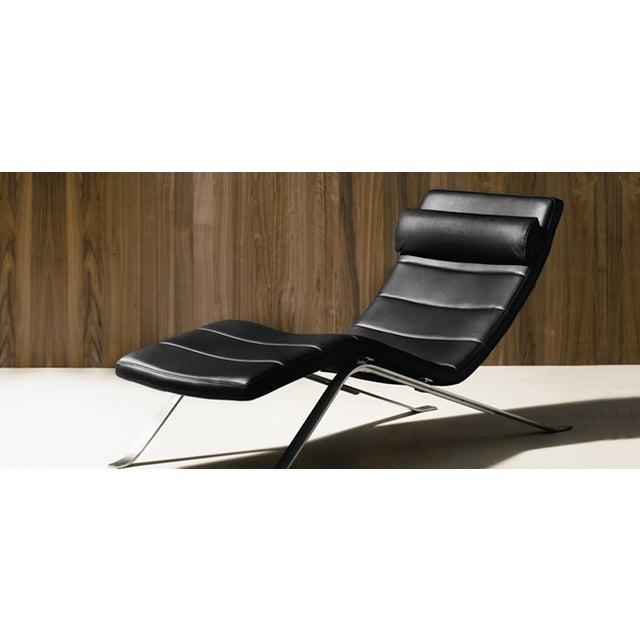 boconcept pavia chaise lounge chairish. Black Bedroom Furniture Sets. Home Design Ideas