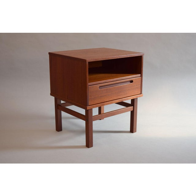 Nils Jonsson Teak Nightstand or Side Table - Image 2 of 8