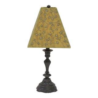 Vintage Sarreid LTD Brass Candlestick Table Lamp