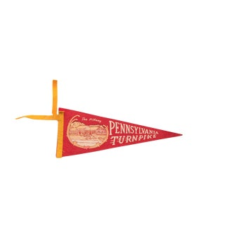 Pennsylvania Turnpike Felt Flag