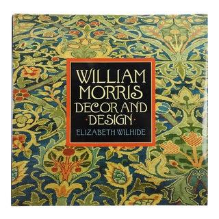 """""""William Morris: Decor & Design"""" Art Book"""