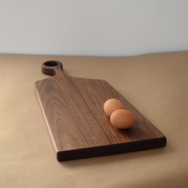 Image of Large Handmade Walnut Asymmetrical Board