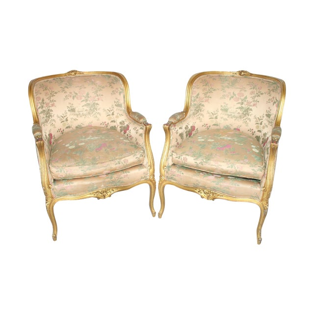 Image of Pair of New York Plaza Hotel Bergère Chairs