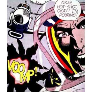 "Roy Lichtenstein ""Voomp!"" Lithograph"