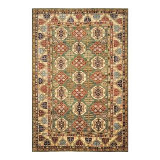 "Caucasian Shirvan Wool Handmade Area Rug - 6'10"" X 10'"